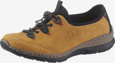 RIEKER Sneaker in honig / schwarz, Produktansicht