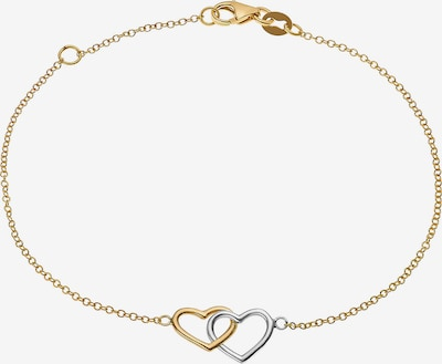 CHRIST Armband in gold / silber, Produktansicht