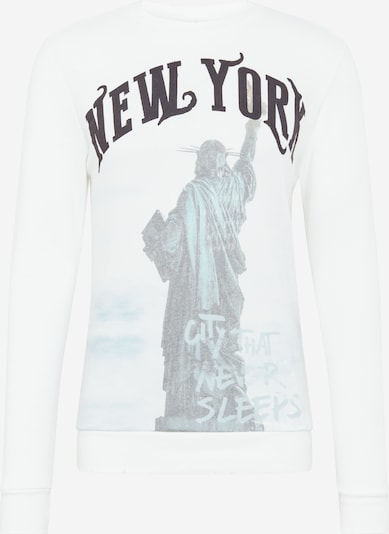 Key Largo Sweatshirt 'MSW LIBERTY round' in weiß, Produktansicht