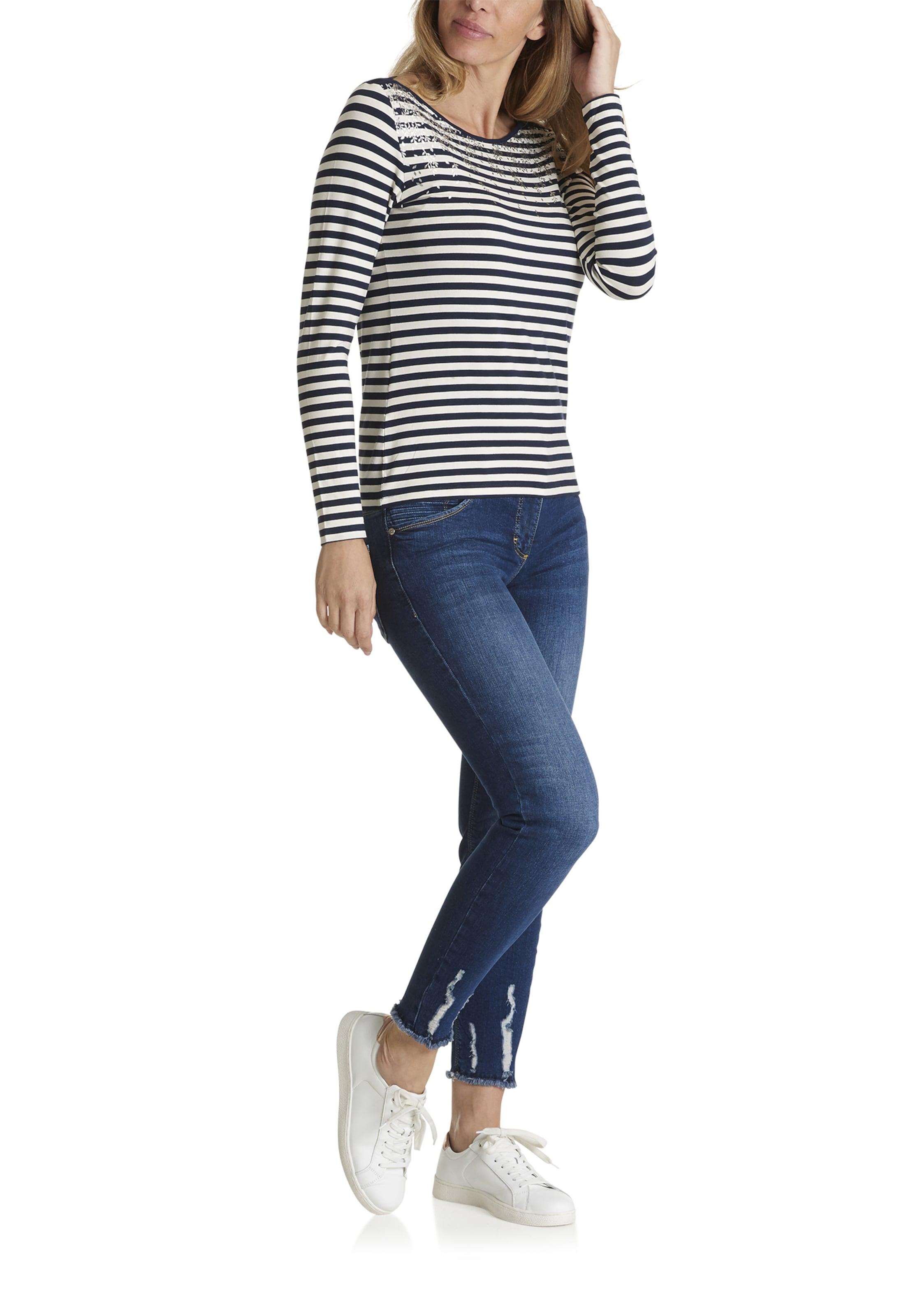 Barclay Betty NavyWeiß In NavyWeiß Shirt Barclay Shirt Betty In wX8nk0OP