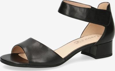 CAPRICE Sandalen in schwarz, Produktansicht
