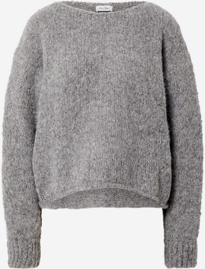 AMERICAN VINTAGE Sweter 'Tudbury' w kolorze nakrapiany szarym: Widok z przodu