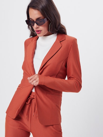 ICHI Blazer 'IHRUTI BL' in orange, Modelansicht