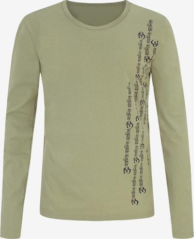 YOGISTAR.COM Shirt 'Orest' in oliv, Produktansicht