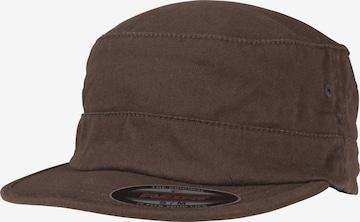 Flexfit Czapka z daszkiem w kolorze brązowy