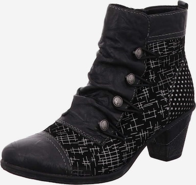 REMONTE Stiefelette in schwarz / schwarzmeliert / weiß, Produktansicht