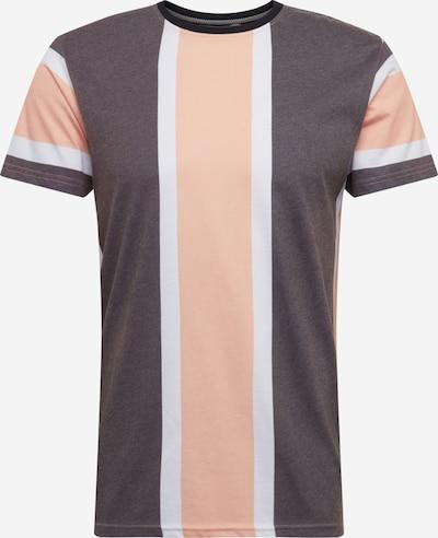 !Solid Tričko 'Jack SS' - sivá melírovaná / marhuľová, Produkt