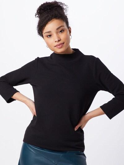 TOM TAILOR Shirt in schwarz, Modelansicht