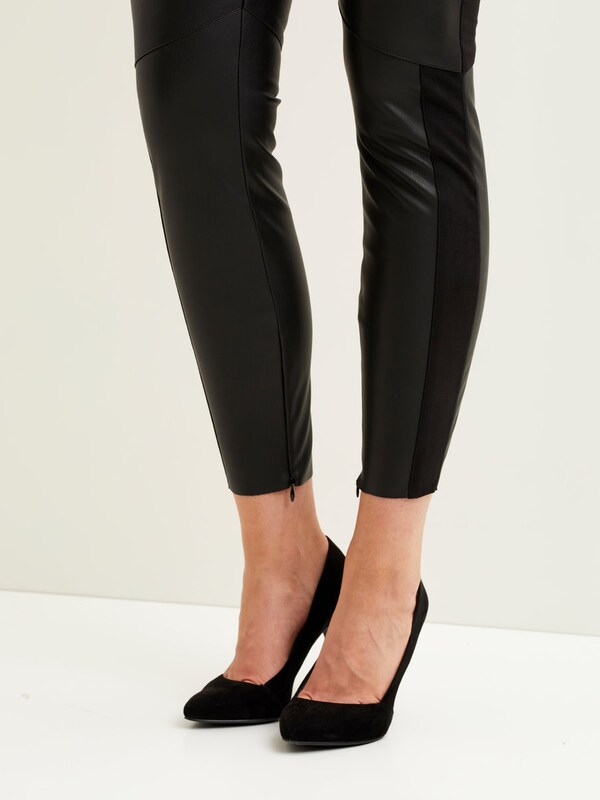 VILA Leggings Kunstleder-