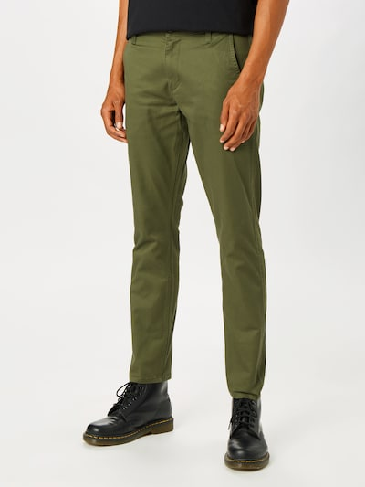 Dockers Pantalon chino 'Alpha Original' en olive, Vue avec modèle