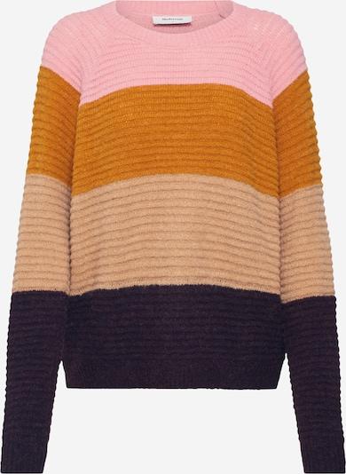 modström Pullover 'Sorbet' in hellbeige / mischfarben / rosa, Produktansicht
