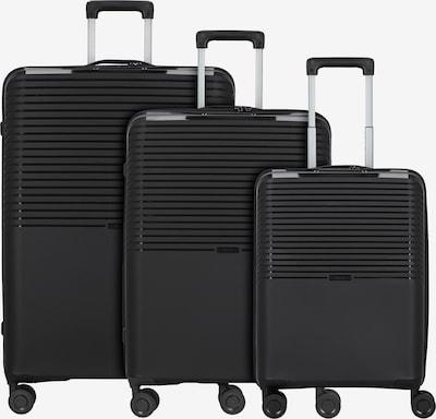 D&N Kofferset in schwarz, Produktansicht
