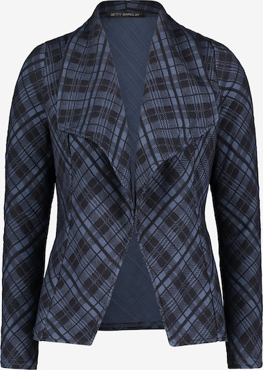 Betty Barclay Casual-Blazer mit Muster in blau / dunkelblau: Frontalansicht