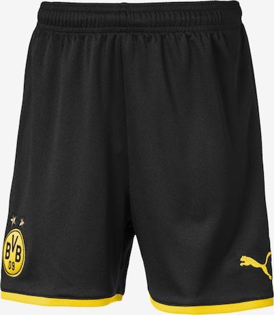 PUMA Shorts 'BVB' in gelb / schwarz, Produktansicht