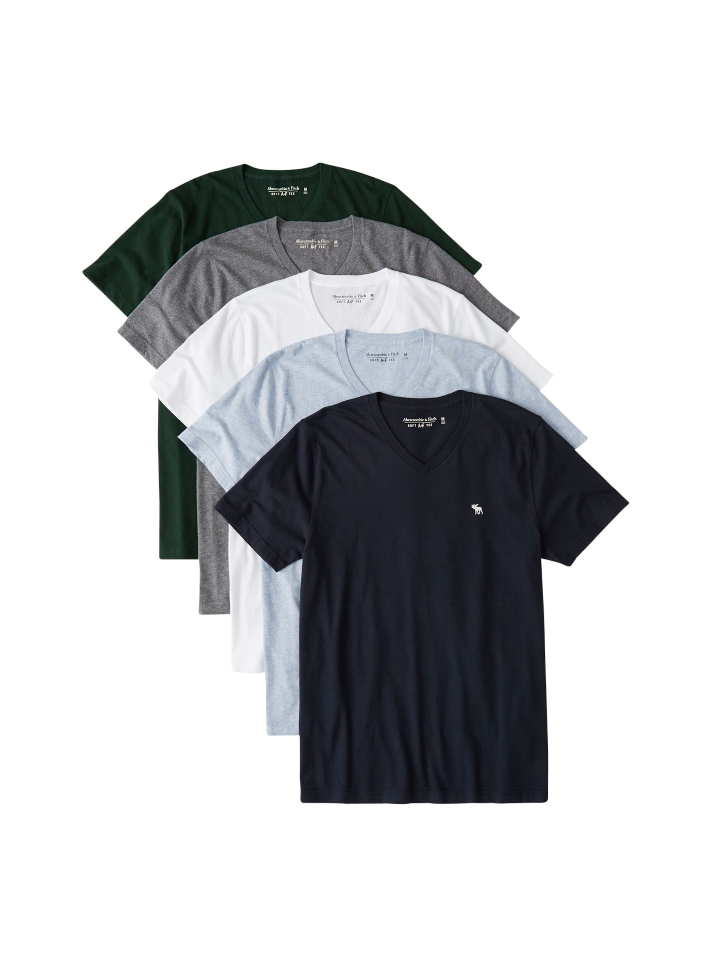 Vert Bleu Abercrombieamp; T Blanc En Fitch shirt Gris MarineClair v7Ybfyg6