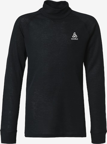 ODLO Langarmshirt in Schwarz