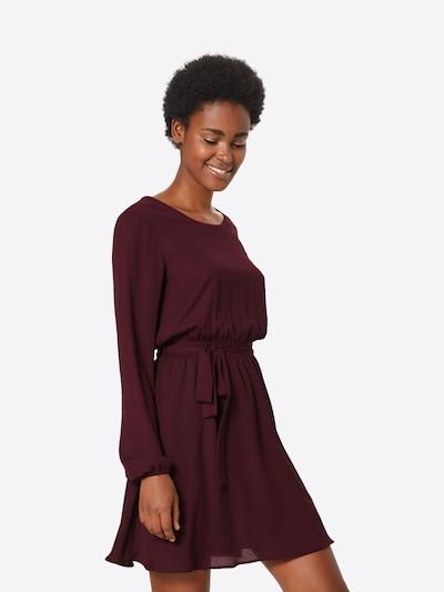 VILA Kleid in kirschrot: Frontalansicht