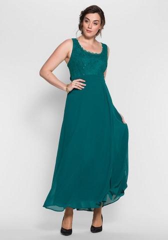 SHEEGO Evening Dress in Green