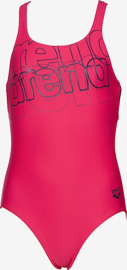 ARENA Badeanzug 'Spotlight' in navy / dunkelpink, Produktansicht