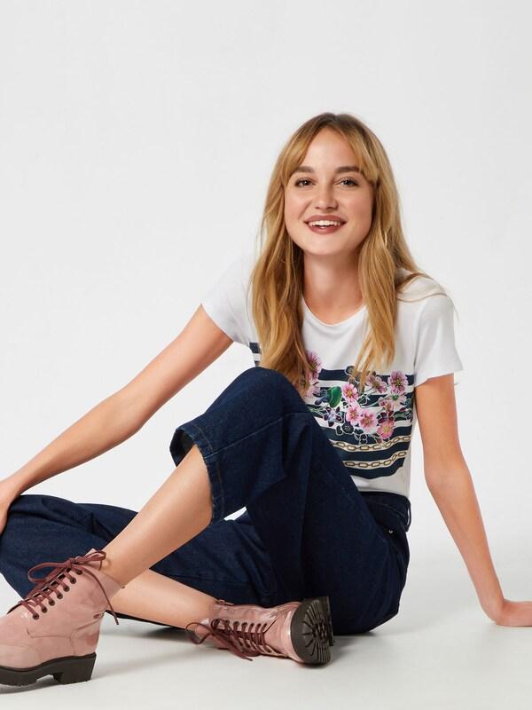 T En CouleursBlanc Mélange De Liu Jo Jeans 'moda' shirt 3l1TFKJc