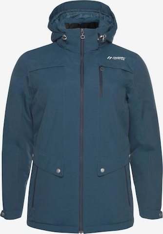 Maier Sports Outdoor Jacket 'VICKY' in Green