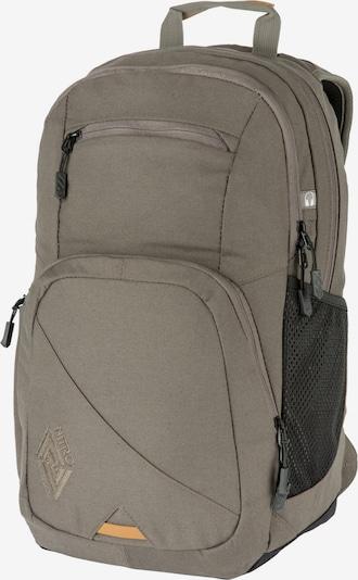 NITRO Rucksack 'Stash' in greige / schwarz, Produktansicht