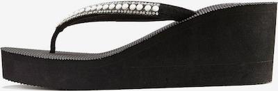Flip-flops LASCANA pe negru: Privire frontală