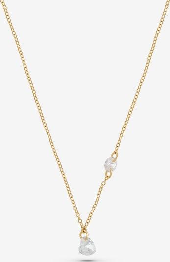 QOOQI Kette 'My Valentine' in gold, Produktansicht