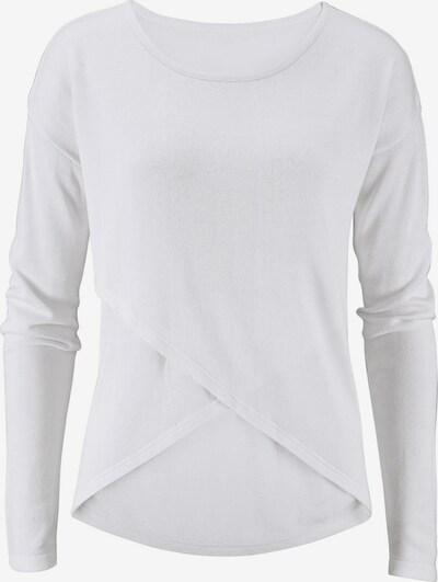 LASCANA Strandpullover in weiß, Produktansicht