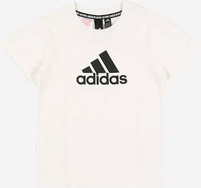 ADIDAS PERFORMANCE T-Shirt fonctionnel 'Must Have Badge of Sport' en noir / blanc, Vue avec produit