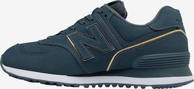 new balance Sneaker in dunkelblau / gelb, Produktansicht