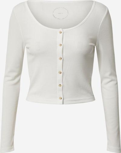 ONLY T-shirt 'MONIKA' en blanc cassé, Vue avec produit
