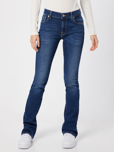 7 for all mankind Jeans 'BOOTCUT BAIR' in blue denim, Modelansicht