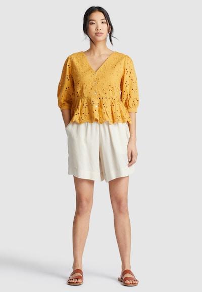 khujo Shirt ' GALILEA ' in gelb, Modelansicht