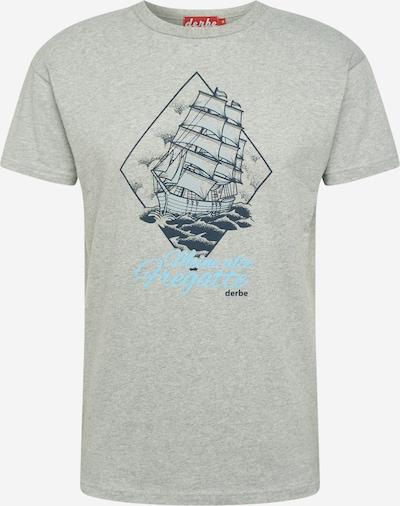 Derbe Tričko 'Fregatte' - modrá / šedý melír, Produkt
