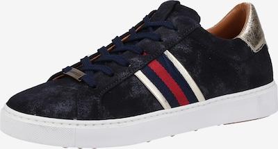 SANSIBAR Sneaker in navy / gold / rot / weiß, Produktansicht