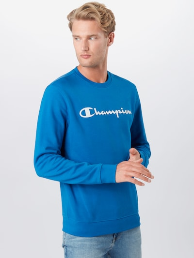 Champion Authentic Athletic Apparel Dressipluus sinine / valge: Eestvaade