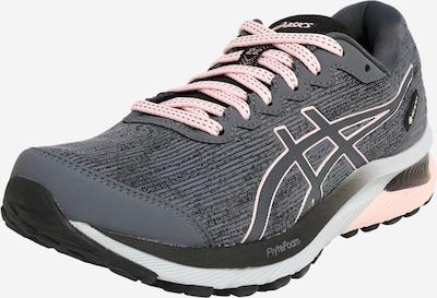 ASICS Tenisice za trčanje 'Cumulus 22 GTX' u tamo siva / pastelno roza / bijela, Pregled proizvoda