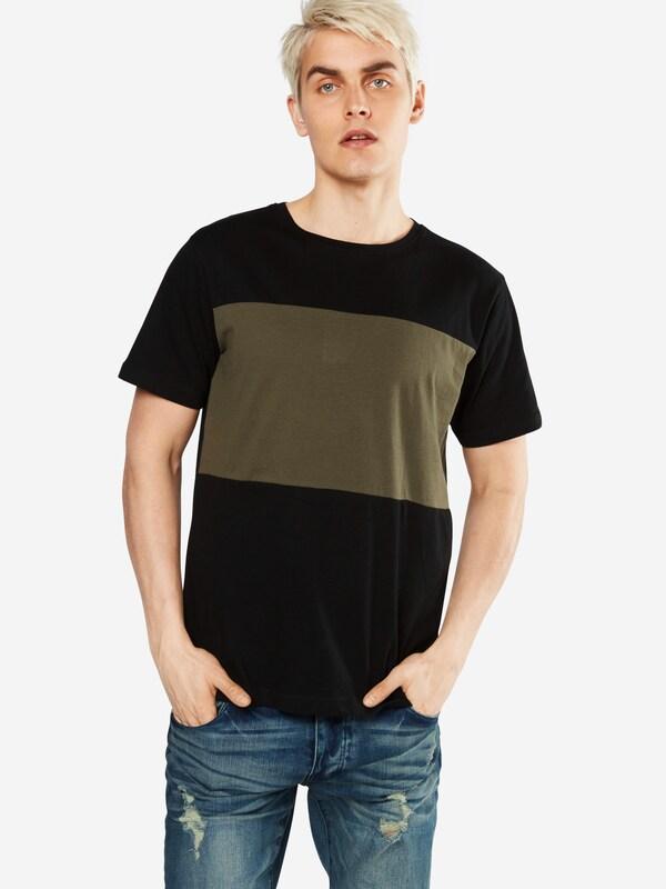 Urban Classics T-shirt Contrast Panel Tee