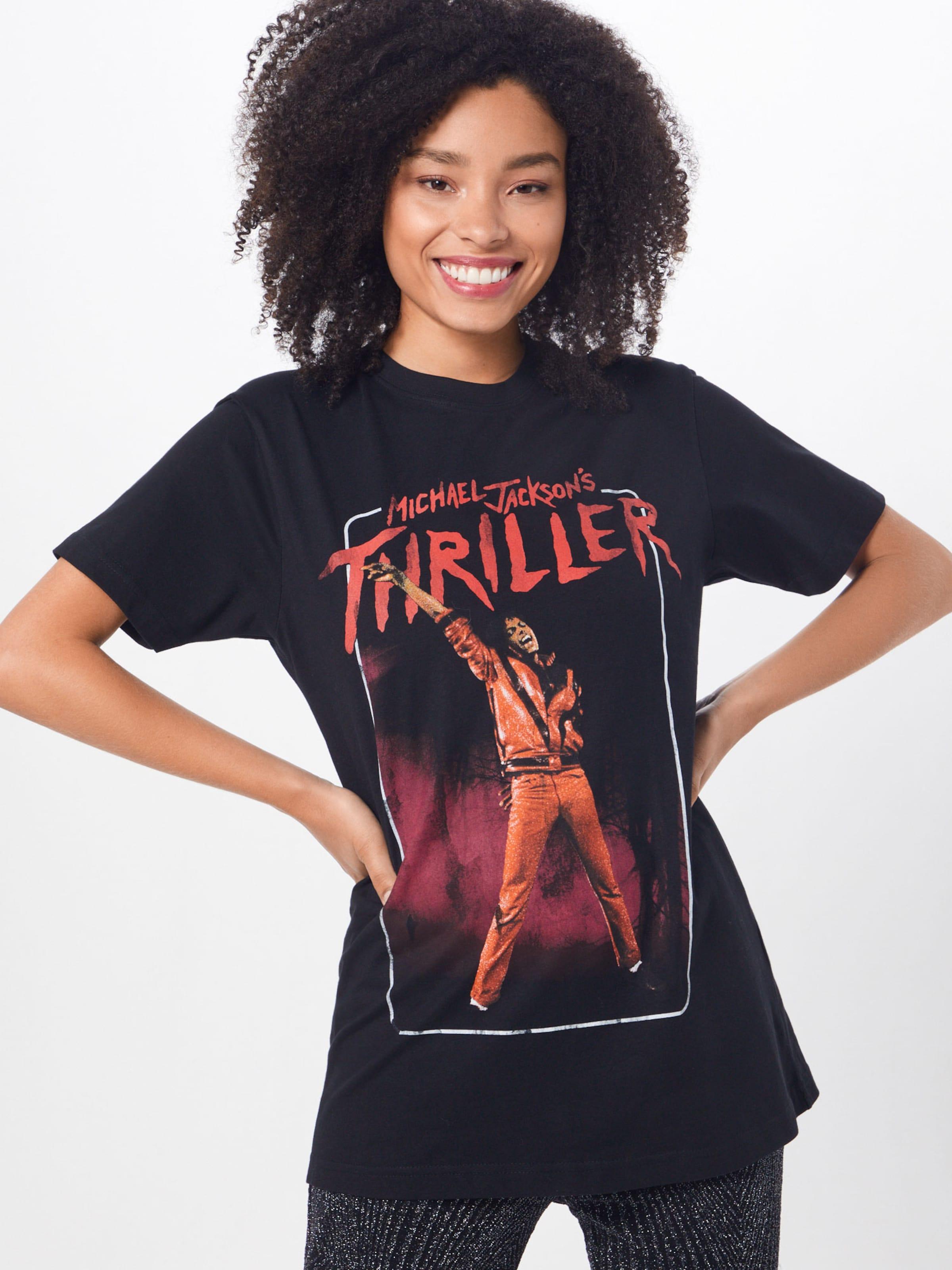 Tee' T Thriller shirt RougeNoir Jackson En Merchcode 'michael Video pUzSMV