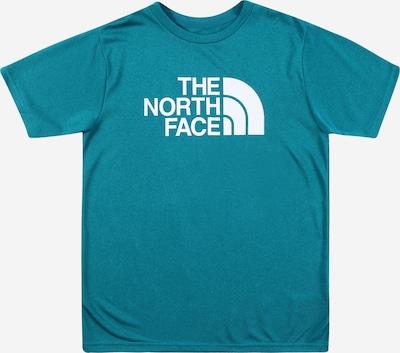 THE NORTH FACE Funkční tričko 'Reaxion' - tyrkysová / bílá: Pohled zepředu