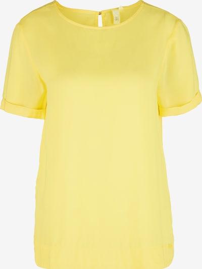 Q/S designed by T-shirt en jaune clair, Vue avec produit