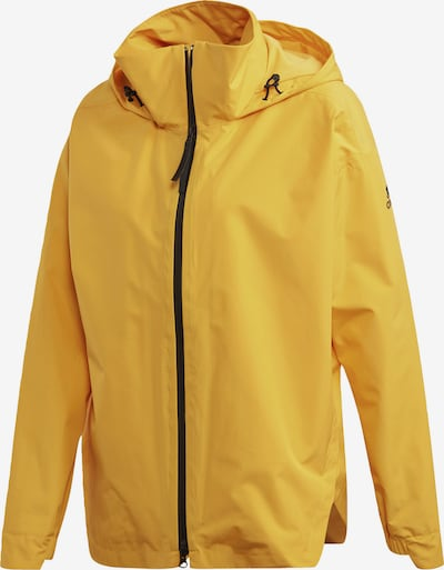ADIDAS PERFORMANCE Regenjacke in gelb, Produktansicht