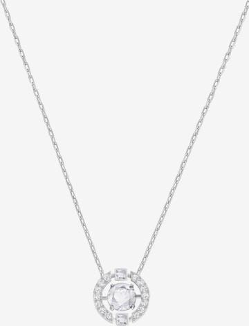 Swarovski Necklace 'Sparkling' in Silver