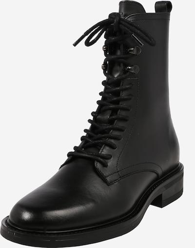 BRONX Kozaki sznurowane w kolorze czarnym, Podgląd produktu