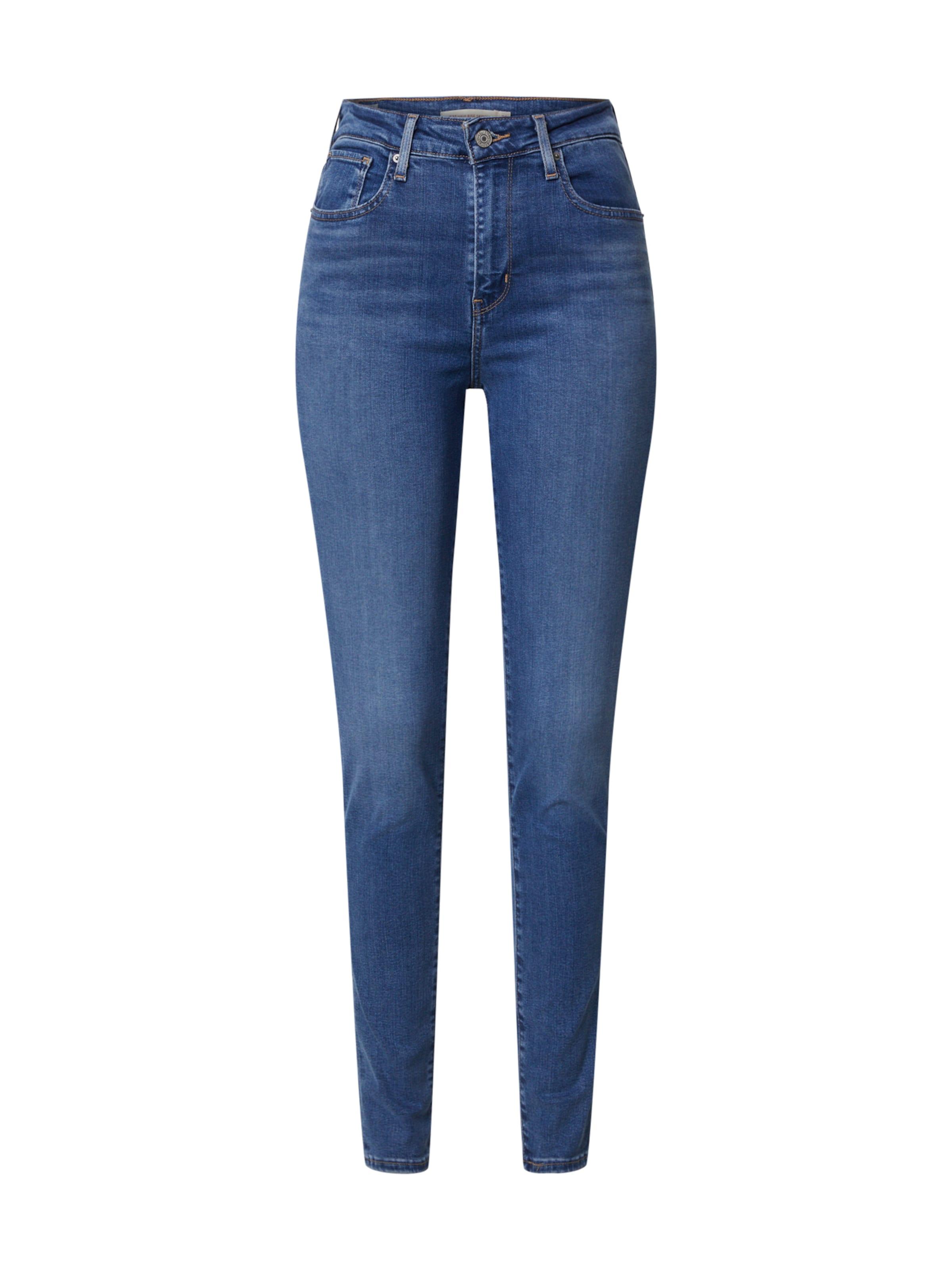 LEVI'S Jeans '721' i blå denim