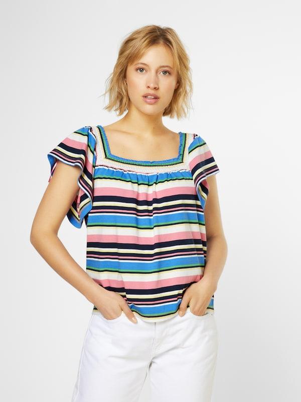 T En De Esprit shirt Mélange Couleurs 3Lj45RA