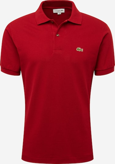 "LACOSTE Polo ""Basic"" in bordeaux, Produktansicht"