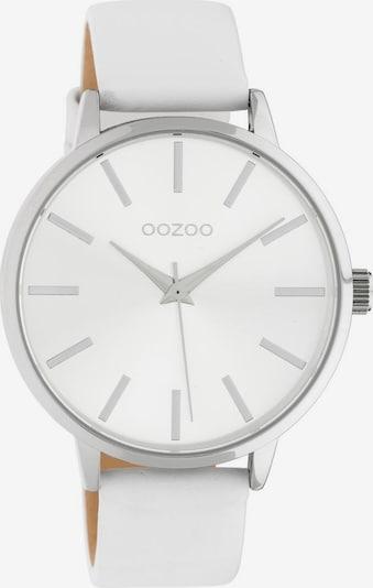 OOZOO OOZOO Quarzuhr »C10610« in silber / weiß, Produktansicht