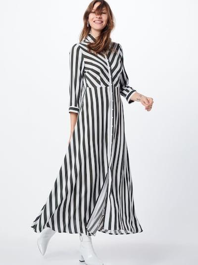 Y.A.S Košeľové šaty 'SAVANNA' - jedľová / biela, Model/-ka